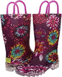 Western Chief Kids - Abstract Blooms Lighted (Toddler/Little Kid)
