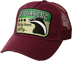 DSQUARED2 Skunk Baseball Cap