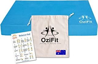 Balance Pad, Kneeling Pad, Made with High Quality TPE Foam, Non-Slip & Eco-Friendly Guaranteed. Ships from Australia. Perfect for Pilates, Core-Training, Physical Therapy, Rehab and Strength Building Free Post and Bonuses!