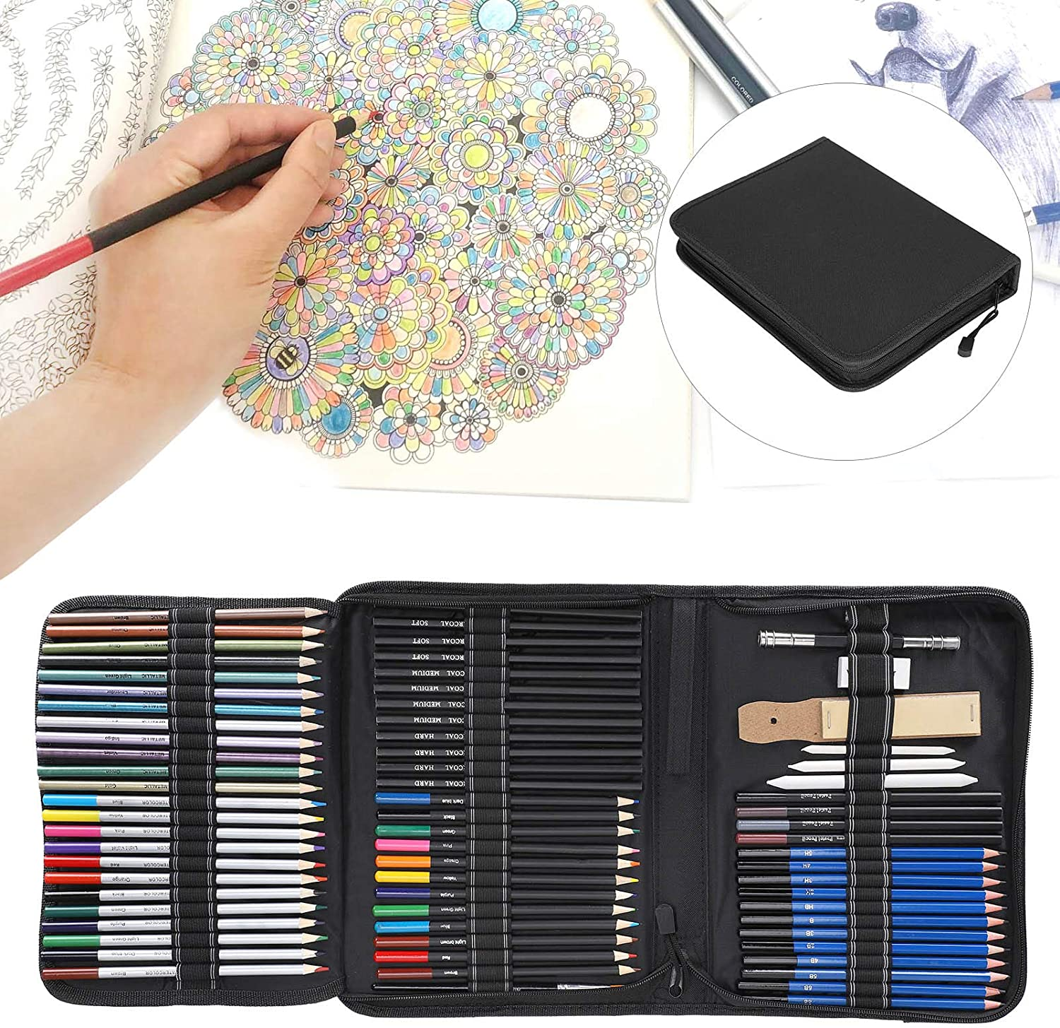 Jacksing Color Pencil Set Sales of SALE items from new works Ranking TOP20 Eco-Friendly
