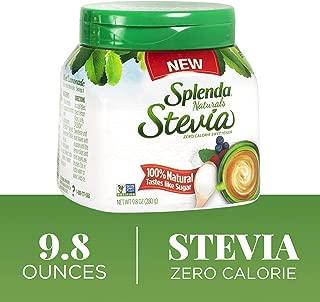 SPLENDA Naturals No Calorie Stevia Sweetener, 9.8 Ounce Jar