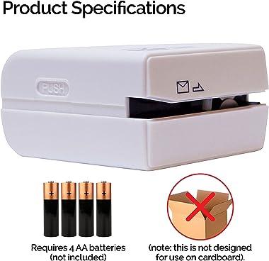 SharpTank Electric Letter Opener (White)