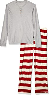 Family Jammies, Cranberry Rugby Stripe, Holiday Matching Pajamas, Organic Cotton