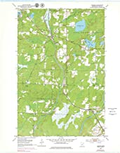 YellowMaps Alborn MN topo map, 1:24000 Scale, 7.5 X 7.5 Minute, Historical, 1953, Updated 1979, 27.23 x 21.53 in