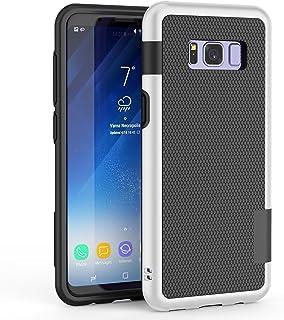 HanLuckyStars Funda Galaxy S8 TPU Fundas Carcasa para Samsung Galaxy S8 Case Galaxy S8 Funda con [Ultra Fina][Anti-Arañazos][Anti-Choques][Garantía de por Vida](Negro)