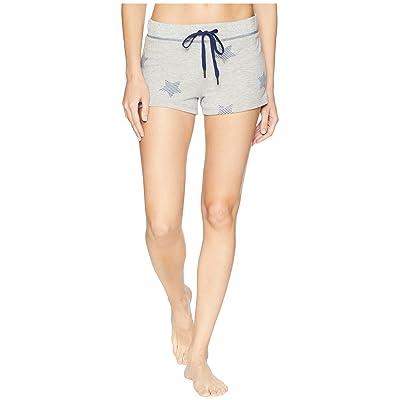 P.J. Salvage 76 Vibes Flag Shorts (Heather Grey) Women