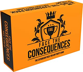 Face The Consequences: The Universal Expansion Pack for Any Party Game - Hilarious Addition to Game Night with Friends, Fa...