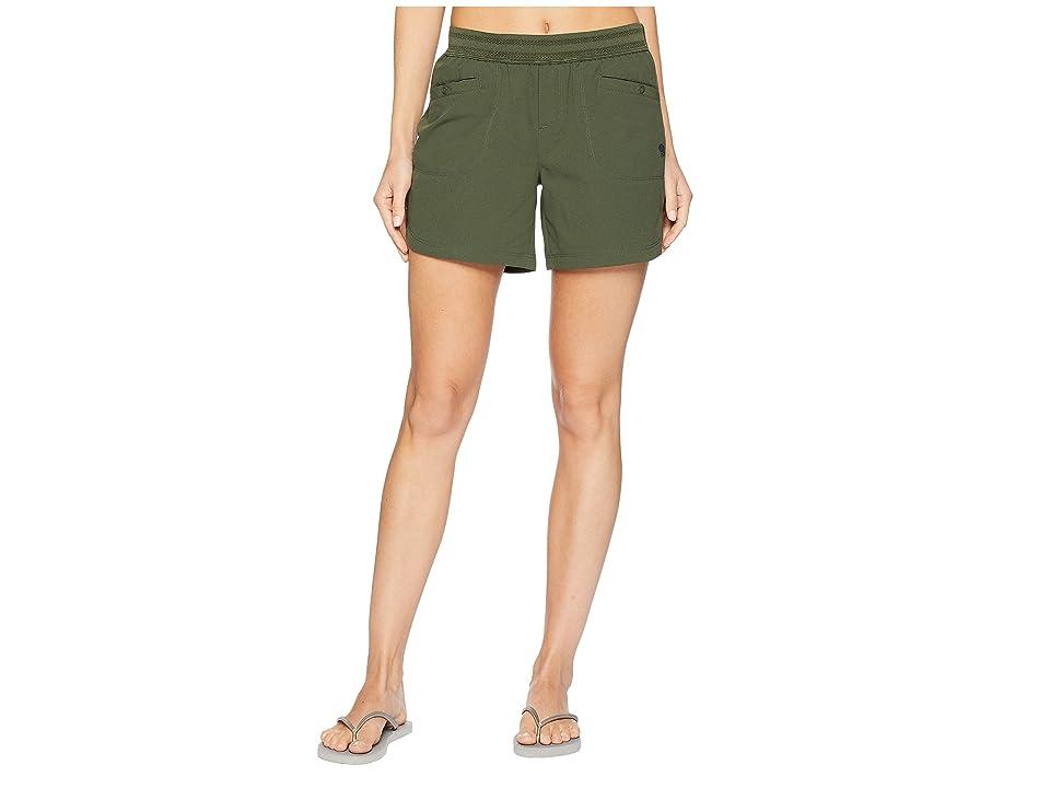 Mountain Hardwear Right Bank Scrambler Shorts (Surplus Green) Women