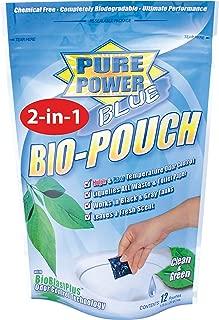 Valterra V23020 Pure Power Blue Waste Digester and Odor Eliminator-2-In-1 Drop-Ins, Pack of 10