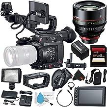 Canon EOS C200 EF Cinema Camera #2215C002 + Canon CN-E 135mm T2.2 L F Cinema Prime Lens (EF Mount) + 256GB SDXC Card + Pro...
