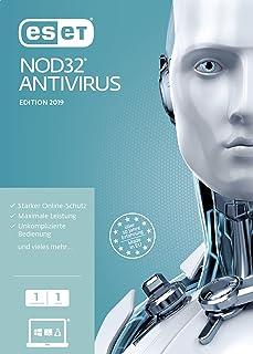 ESET NOD32 Antivirus 2019 Edition 1 User (FFP)/CD-ROM