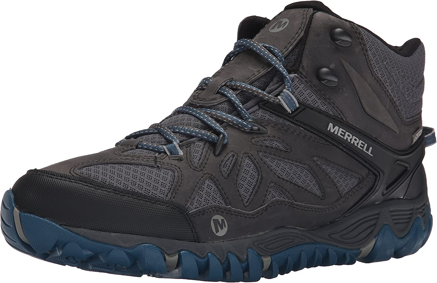 Merrell Men's All Out Blaze Vent Mid Waterproof Hiking Boot Grey