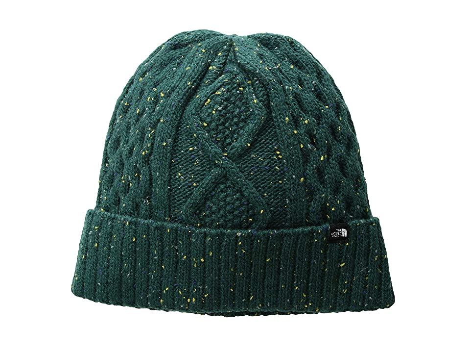 The North Face Lambswool Beanie (Botanical Garden Green) Beanies