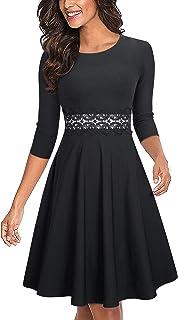 b5f81c5d82027 Amazon.com: 3/4 Sleeve - Dresses / Clothing: Clothing, Shoes & Jewelry
