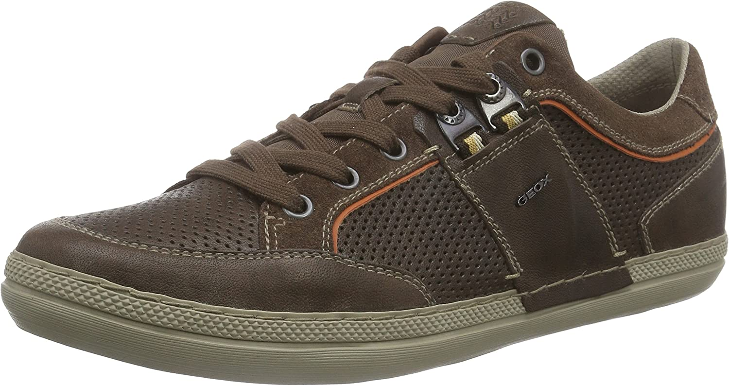 Geox U Box B Mens Leather Sneakers shoes
