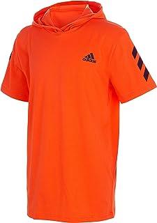 adidas Boys` Big Short Sleeve Hooded T-Shirt