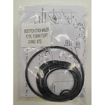 28° Streifennägel 2,8x50 mm ring blank S280R50 für Bostitch F28WW-E