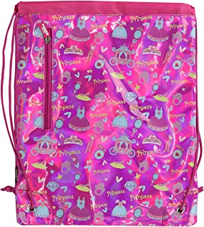 361/º Kids Drawstring Bags for Swimming Beach Boys Girls Swim Backpack Water Resistant Cinch Dry Wet Separated Beach Bag Sackpack for Pool School Camping