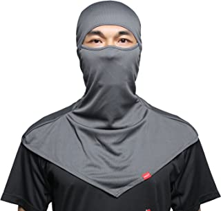 Balaclava Face Mask for Sun Protection Breathable Motorcycle Long Neck Covers in Summer for Men Hiking Fishing Trekking Walking