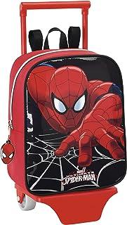 Spider-Man - Mochila guardería con Ruedas, 22 x 27 cm (SAFTA 611412280)