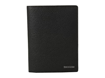Tumi Province Passport Cover (Black) Wallet
