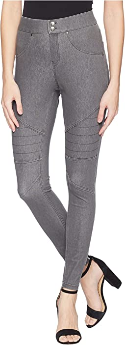 HUE - Moto Curvy Leggings