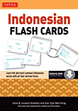 Indonesian Flash Cards: (Downloadable Audio Included) (Tuttle Flash Cards)