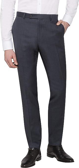 Calvin Klein Men's Extreme Slim Suit Pant Charcoal