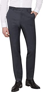 Calvin Klein Men's Extreme Slim Suit Pant Charcoal
