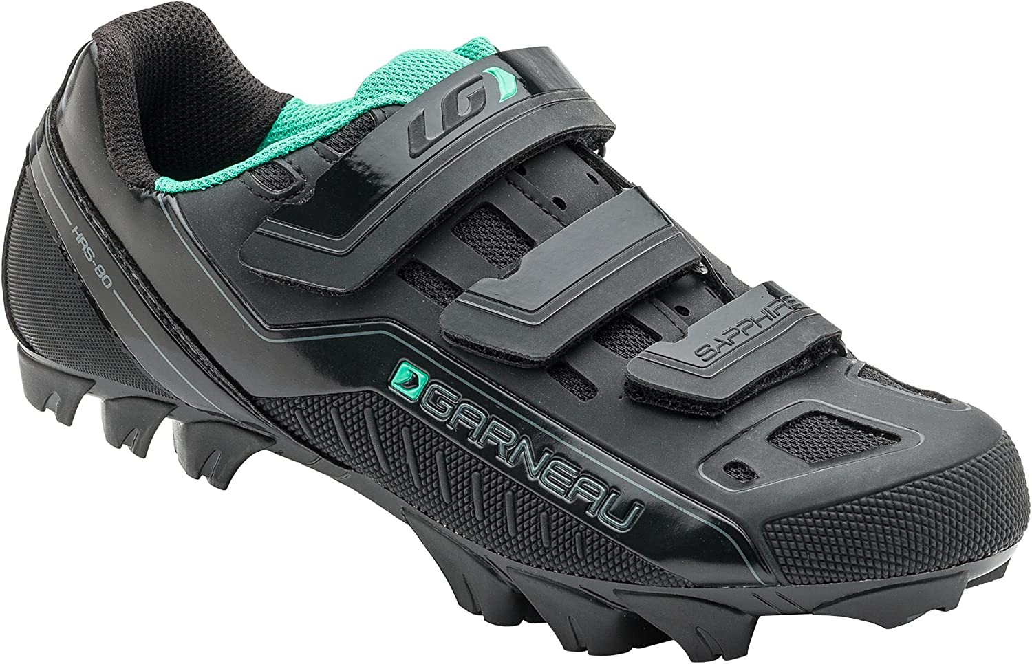 Garneau Sapphire shoes Women's Mountain Biking 43 EU Black