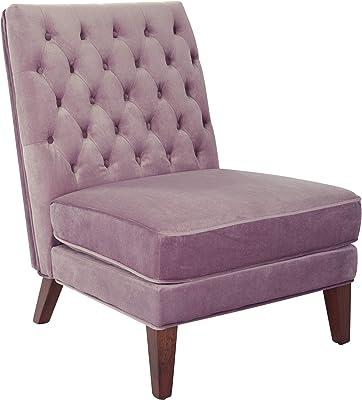 OSP Home Furnishings Brampton Chair, Mauve