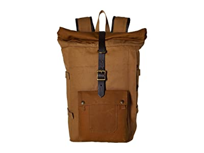 Filson Roll Top Backpack (Tan) Backpack Bags