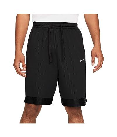 Nike Dry Elite Shorts Stripe (Black/Black/White) Men