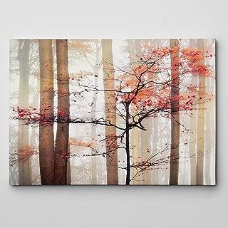 Best orange awakening canvas wall art Reviews