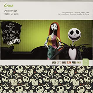 Cricut Deluxe Paper, Nightmare Before Christmas
