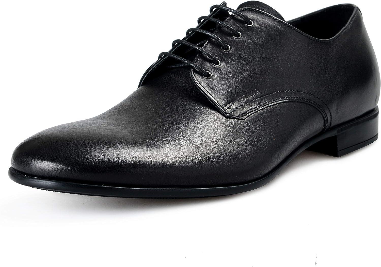 Prada Men's 2E2748 8QW F0002 Leather Business Shoes