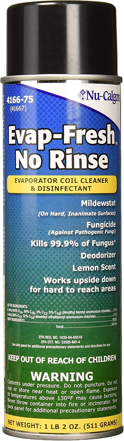 Nu-Calgon 4166-75 Coil Cleaner Disinfectant Max 67% OFF and Finally resale start