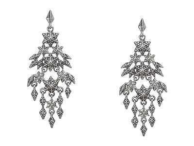 Vince Camuto Chandelier Earrings (Rhodium/Crystal) Earring