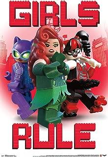 Trends International Lego Batman-Girls Clip Wall Poster, 22.375