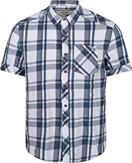 Regatta Men's Deakin Iii' Coolweave Cotton Short Sleeve Checked Shirts