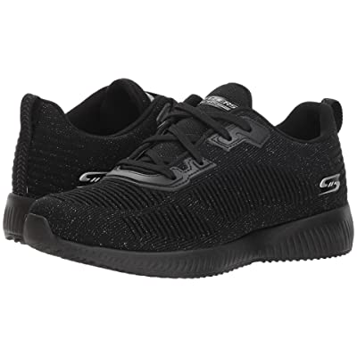 BOBS from SKECHERS Bobs Squad Total G (Black Silver) Women