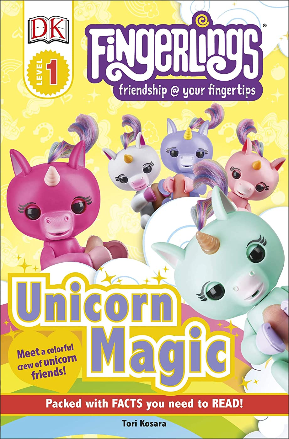 ユーモア文庫本失速Fingerlings Unicorn Magic (DK Readers, Level 1: Fingerlings: Friendship @ Your Fingertips) (English Edition)