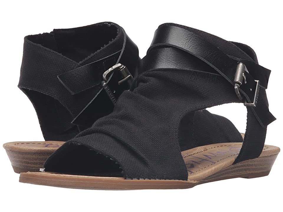 Blowfish Balla (Solid Black Rancher/Black Dyecut) Women