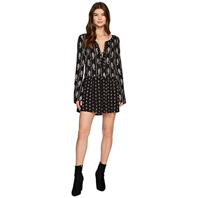 The Jetset Diaries Hayworth Dress (Black Hayworth Print) Women