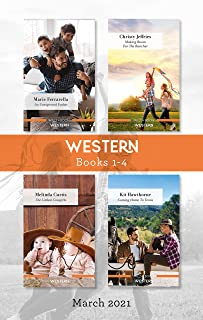 Western Box Set Mar 2021/An Unexpected Father/Making Room for the Rancher/The Littlest Cowgirls/Coming Home to Texas (The ...