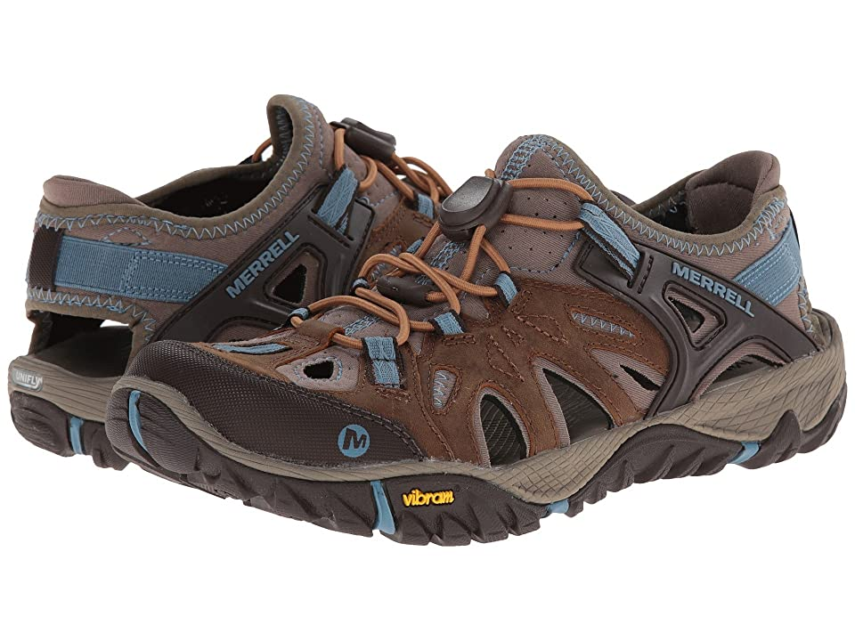 Merrell All Out Blaze Sieve (Brown Sugar/Blue Heaven) Women