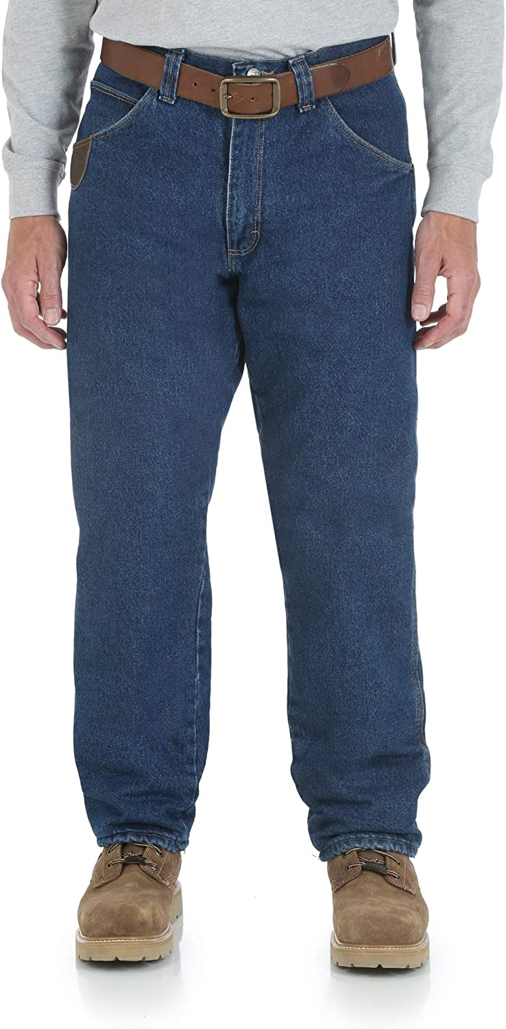 Very popular Wrangler Over item handling Riggs Workwear Men's Lined Fit Relaxed Jean