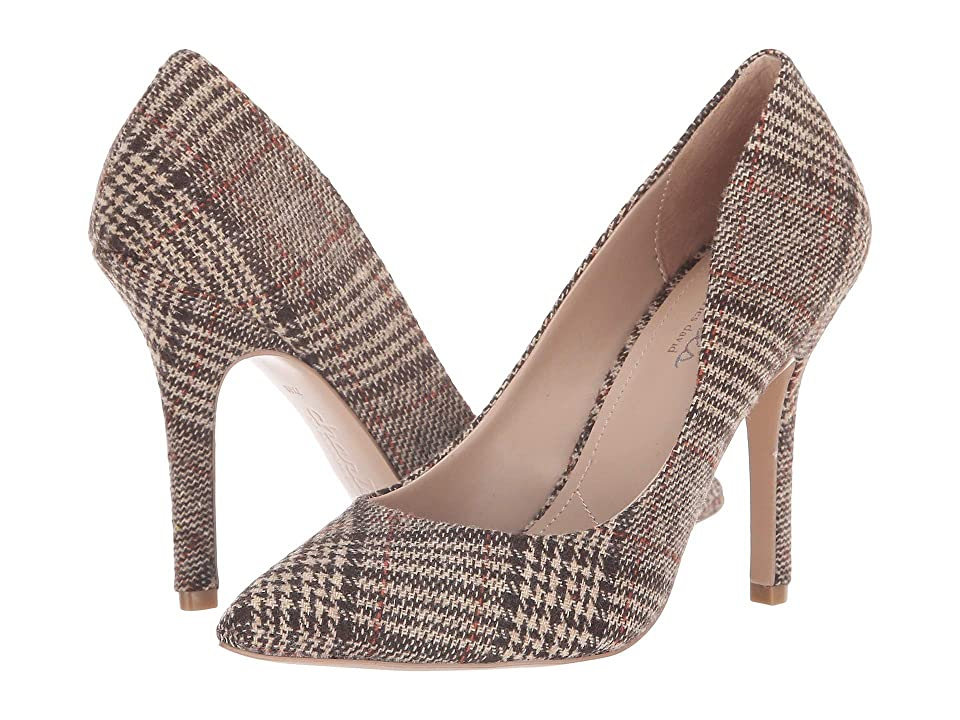 Charles by Charles David Maxx (Brown Plaid) High Heels