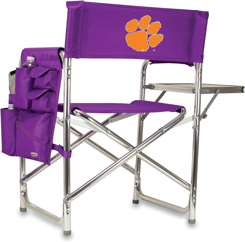 NCAA Clemson UniversityTigers Digital Print Sports Chair, Purple, One Size