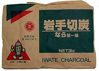 岩手県木炭移出協同組合 国産岩手木炭3kg
